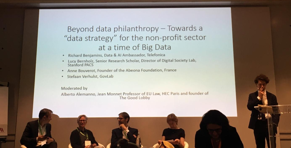 Data & Philanthropy : how to accelerate impact through partnerships for the Common Good ?