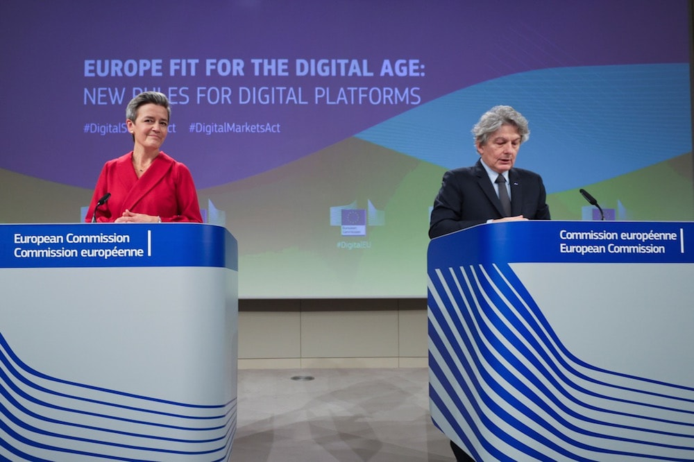 Editorial – DSA and DMA: Can the EU take on Big Tech?, March 2021, by Arnaud Castaignet